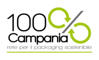 100% Campania - Rete per il Packaging Sostenibile logo